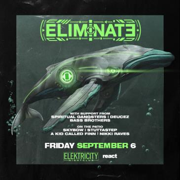 ELIMINATE (Limited Free W/ RSVP Before 11PM): Main Image