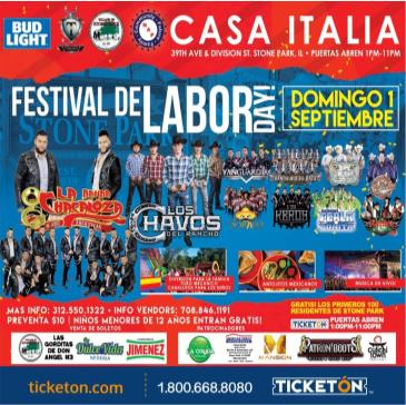 FESTIVAL DE LABOR DAY: Main Image