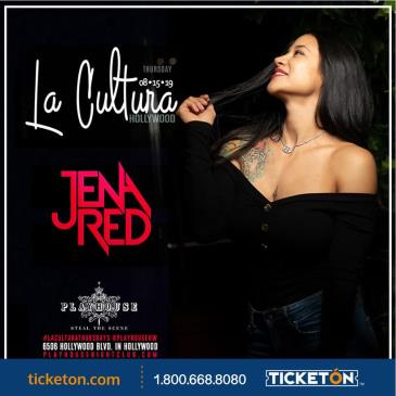 LA CULTURA THURSDAYS | DJ JENA RED AT PLAYHOUSE: Main Image