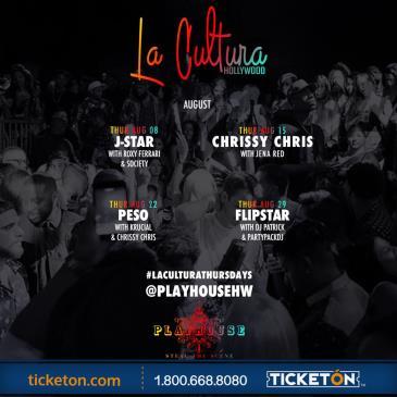 LA CULTURA THURSDAYS | DJ FLIPSTAR AT PLAYHOUSE: Main Image