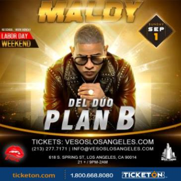 VESOS PRESENTS MALDY DEL DUO PLAN B