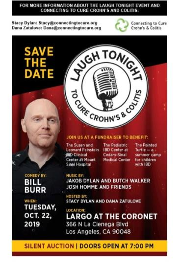 Laugh Tonight To Cure Crohn's & Colitis w/ Bill Burr & More!: Main Image