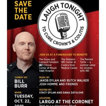Laugh Tonight To Cure Crohn's & Colitis w/ Bill Burr & More!-img