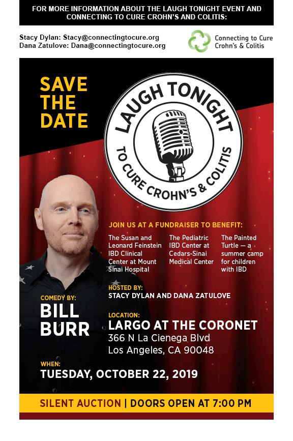 Buy Tickets to Laugh Tonight To Cure Crohn's & Colitis w