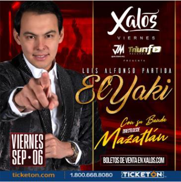 EL YAKI ENCONCIERTO EN XALOS: Main Image