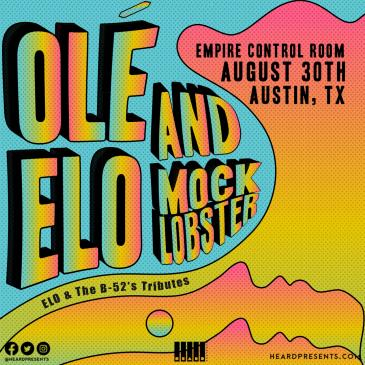 Olé ELO & Mock Lobster (ELO & The B-52's Tributes)-img