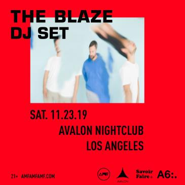 AMFAMFAMF Presents: The Blaze (DJ Set): Main Image