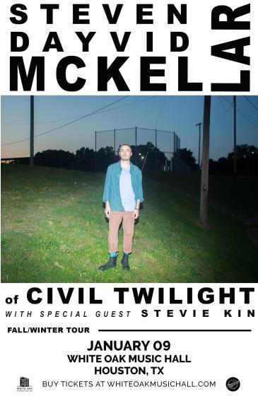 Steven Dayvid McKellar of Civil Twilight: Main Image