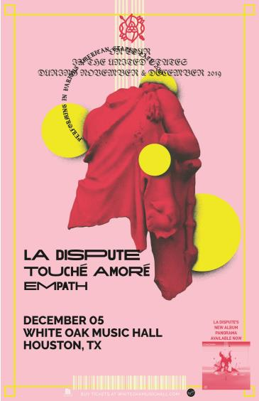 La Dispute with Touche Amore and Empath: Main Image