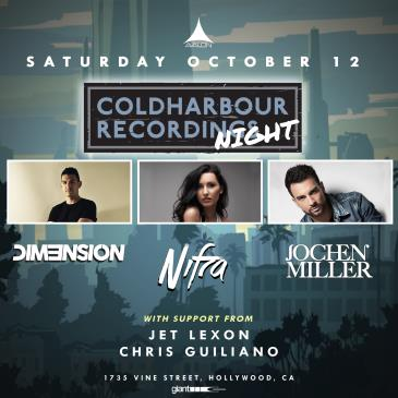 Coldharbour Night: Nifra / Dim3nsion / Jochen Miller: Main Image