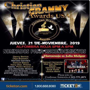 CHRISTIAN GRAMMY AWARDS: Main Image
