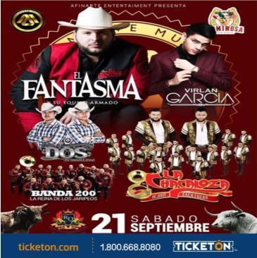 EL FANTASMA, VIRLAN GARCIA: Main Image