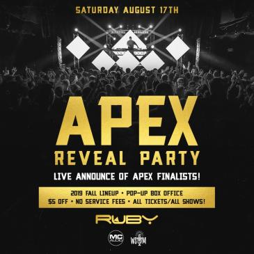 APEX FINALE REVEAL PARTY: Main Image