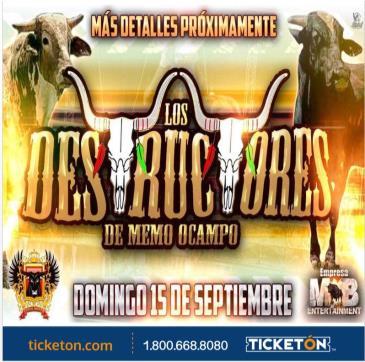 LOS DESTRUCTORES DE MEMO OCAMPO: Main Image