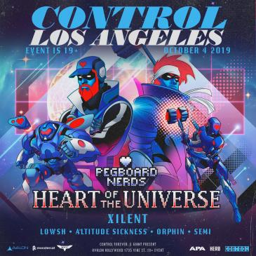 Pegboard Nerds - Heart Of The Universe Tour: Main Image