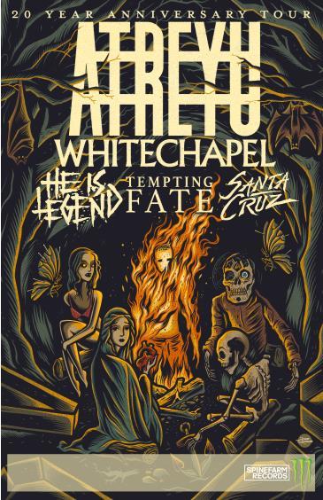 Atreyu 20th Anniversary Tour: Main Image
