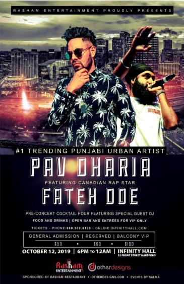 Pav Dharia and Fateh Doe presented by Rasham Entertainment: Main Image