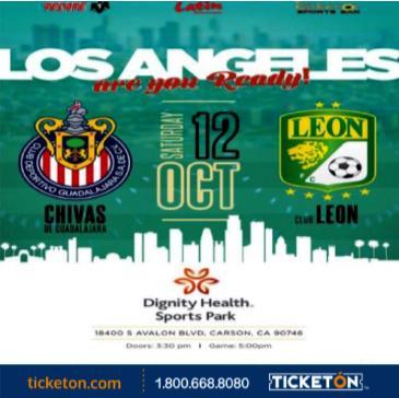 CHIVAS DE GUADALAJARA VS CLUB LEON: Main Image