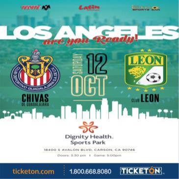 CHIVAS DE GUADALAJARA VS CLUB LEON