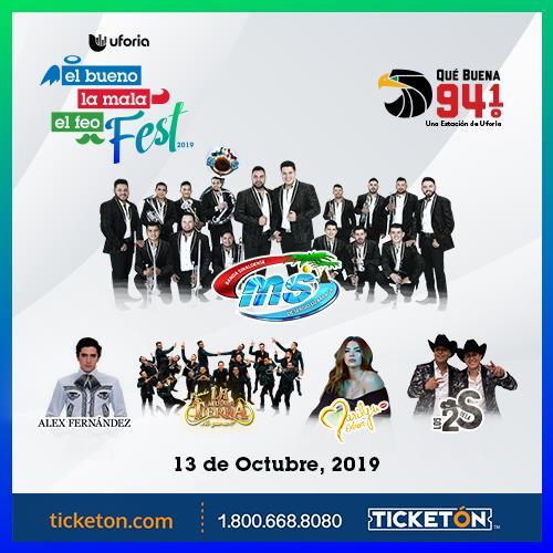 Bueno La Mala El Feo Fest Tickets Boletos Rodeo De Mesquite
