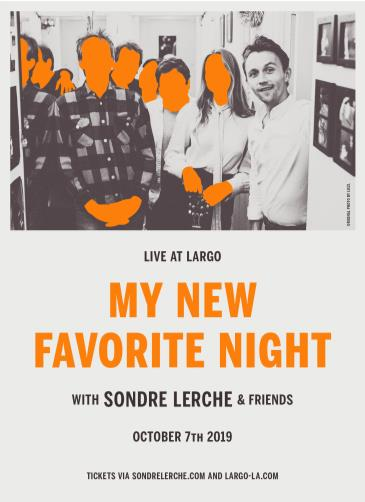 My New Favorite Night with Sondre Lerche & Friends: Main Image