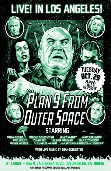 PLAN 9 FROM OUTER SPACE - LIVE: Main Image