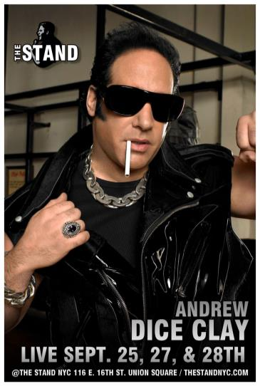 A Night With DICE: Andrew Dice Clay exclusive event!: Main Image