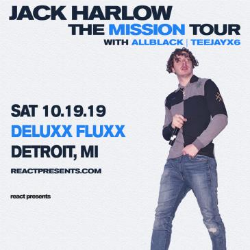 Jack Harlow - The Mission Tour: Main Image
