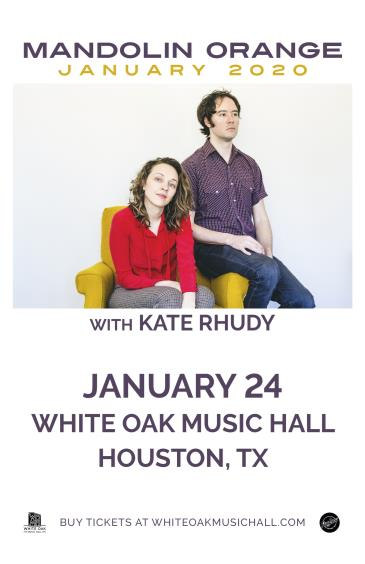 Mandolin Orange with Kate Rhudy: Main Image