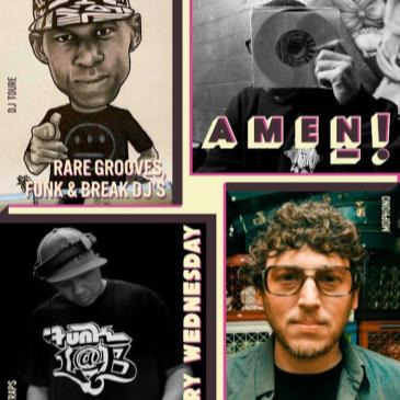 AMEN!  (Wednesdays at BBR - Rare groove, Funk & Breaks DJs)-img
