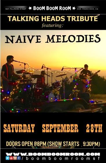 NAIVE MELODIES (plays TALKING HEADS): Main Image