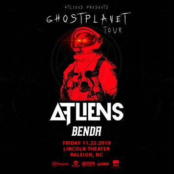 Atliens Ghost Planet Tour - RALEIGH: Main Image