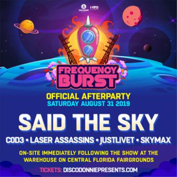 Frequency Burst After Party Feat. Said The Sky - ORLANDO-img