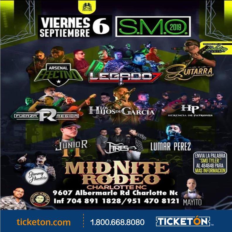 Smoke Me Out Tour Midnite Rodeo Charlotte Nc Tickets Boletos