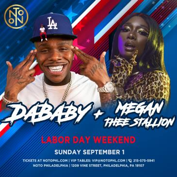 DaBaby + Megan Thee Stallion: Labor Day Weekend: Main Image