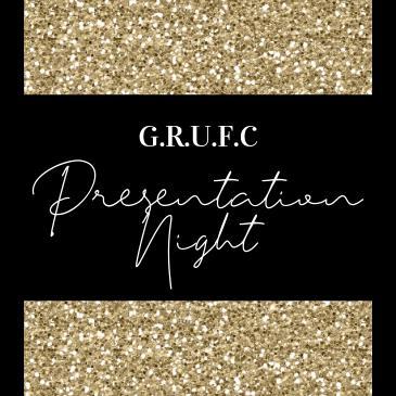 G.R.U.F.C Presentation Night: Main Image
