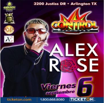 ALEX ROSE: Main Image