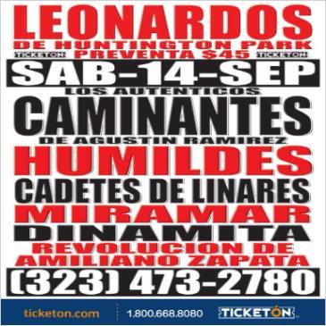 LOS AUTENTICOS CAMINANTES: Main Image