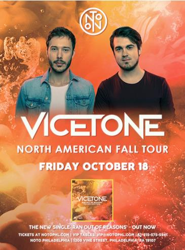 Vicetone: North American Fall Tour: Main Image