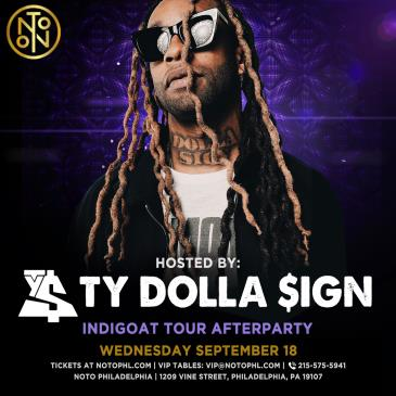 Ty Dolla $ign: INDIGOAT Tour Afterparty: Main Image