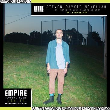 Steven Dayvid McKellar (of Civil Twilight) Acoustic Show: Main Image