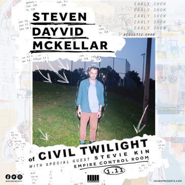 Steven Dayvid McKellar (of Civil Twilight) Acoustic Show-img