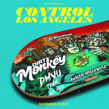 CONTROL Presents Primatology World Tour: Dirt Monkey-img
