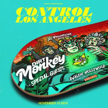CONTROL Presents Primatology World Tour: Dirt Monkey-img