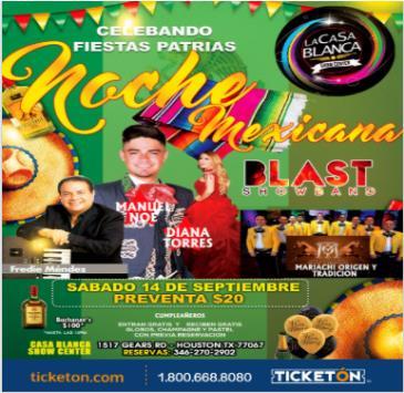 NOCHE MEXICANA: Main Image