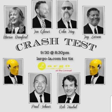 Rob Huebel & Paul Scheer present CRASH TEST: Main Image
