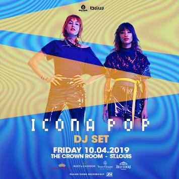Icona Pop (DJ Set) - ST. LOUIS: Main Image