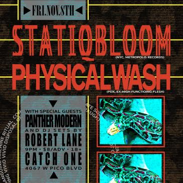 Statiqbloom & Physical Wash: Main Image