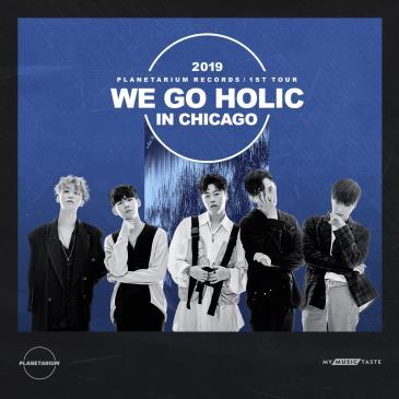 """2019 PLANETARIUM RECORDS 1ST TOUR """"WE GO HOLIC"""" IN CHICAGO: Main Image"""