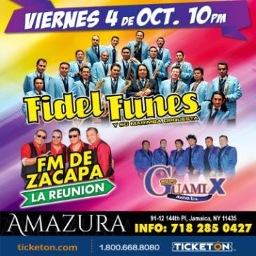 FIDEL FUNES Y FM DE ZACAPA LA REUNION